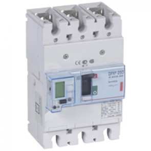 MCCB electronic release - DPX³ 250 - Icu 36 kA 400 V~ - 3P - 40 A