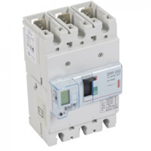 MCCB electronic release - DPX³ 250 - Icu 36 kA 400 V~ - 3P - 160 A