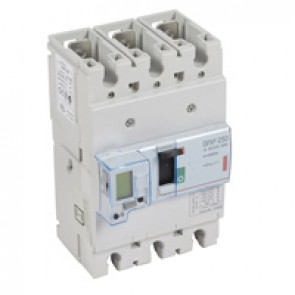 MCCB electronic release - DPX³ 250 - Icu 36 kA 400 V~ - 3P - 250 A