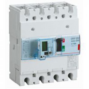MCCB electronic release - DPX³ 250 - Icu 36 kA 400 V~ - 4P - 100 A