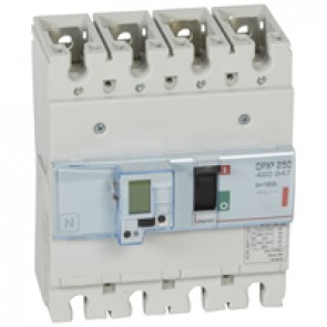 MCCB electronic release - DPX³ 250 - Icu 36 kA 400 V~ - 4P - 160 A