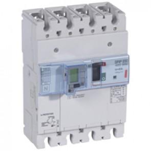 MCCB electronic release + e.l.c.bs - DPX³ 250 - Icu 36 kA 400 V~ - 4P - 40 A
