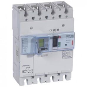MCCB electronic release + e.l.c.bs - DPX³ 250 - Icu 36 kA 400 V~ - 4P - 160 A