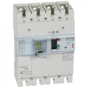 MCCB electronic release + e.l.c.bs - DPX³ 250 - Icu 36 kA 400 V~ - 4P - 250 A