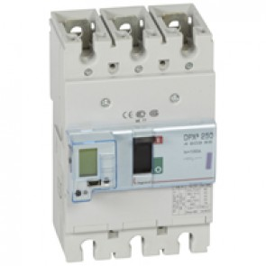 MCCB electronic release - DPX³ 250 - Icu 50 kA 400 V~ - 3P - 100 A