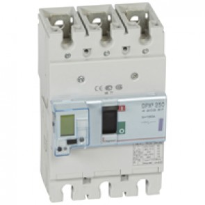 MCCB electronic release - DPX³ 250 - Icu 50 kA 400 V~ - 3P - 160 A