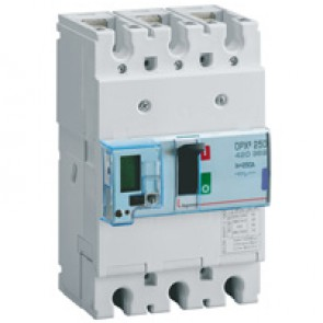 MCCB electronic release - DPX³ 250 - Icu 50 kA 400 V~ - 3P - 250 A