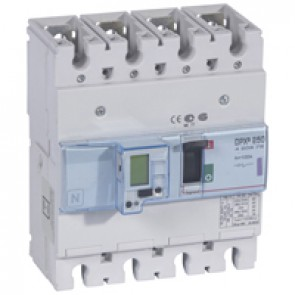 MCCB electronic release - DPX³ 250 - Icu 50 kA 400 V~ - 4P - 100 A