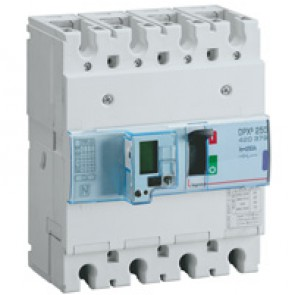 MCCB electronic release - DPX³ 250 - Icu 50 kA 400 V~ - 4P - 250 A