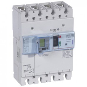 MCCB electronic release + e.l.c.bs - DPX³ 250 - Icu 50 kA 400 V~ - 4P - 100 A