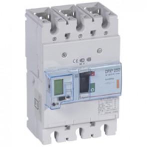 MCCB electronic + energy metering - DPX³ 250 - Icu 25 kA 400 V~ - 3P - 250 A
