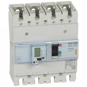 MCCB electronic + energy metering - DPX³ 250 - Icu 25 kA 400 V~ - 4P - 40 A
