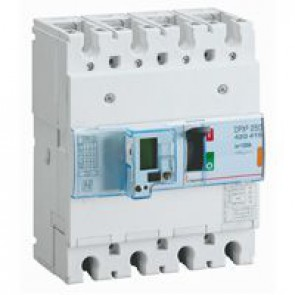 MCCB electronic + energy metering - DPX³ 250 - Icu 25 kA 400 V~ - 4P - 100 A