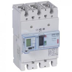 MCCB electronic + energy metering - DPX³ 250 - Icu 36 kA 400 V~ - 3P - 100 A