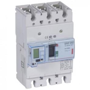 MCCB electronic + energy metering - DPX³ 250 - Icu 36 kA 400 V~ - 3P - 160 A