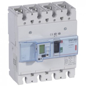 MCCB electronic + energy metering - DPX³ 250 - Icu 36 kA 400 V~ - 4P - 40 A