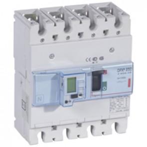 MCCB electronic + energy metering - DPX³ 250 - Icu 36 kA 400 V~ - 4P - 100 A