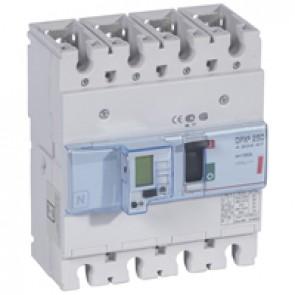 MCCB electronic + energy metering - DPX³ 250 - Icu 36 kA 400 V~ - 4P - 160 A
