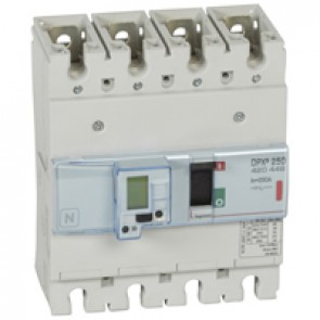 MCCB electronic + energy metering - DPX³ 250 - Icu 36 kA 400 V~ - 4P - 250 A