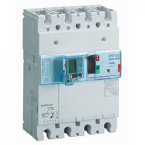 MCCB electronic + energy metering + e.l.c.bs - DPX³ 250 - Icu 36 kA - 4P - 40 A