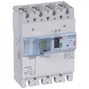 MCCB electronic + energy metering + e.l.c.bs - DPX³ 250 - Icu 36 kA - 4P - 100 A