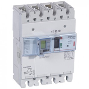 MCCB electronic + energy metering + e.l.c.bs - DPX³ 250 - Icu 36 kA - 4P - 250 A