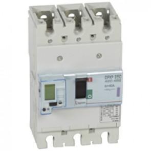 MCCB electronic + energy metering - DPX³ 250 - Icu 50 kA 400 V~ - 3P - 40 A