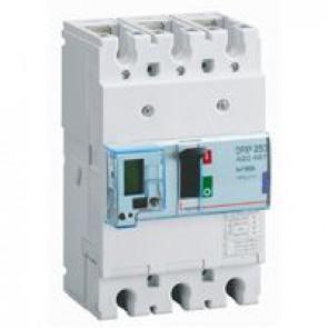 MCCB electronic + energy metering - DPX³ 250 - Icu 50 kA 400 V~ - 3P - 160 A