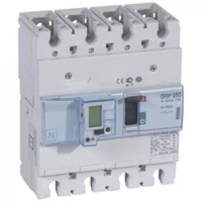 MCCB electronic + energy metering - DPX³ 250 - Icu 50 kA 400 V~ - 4P - 100 A