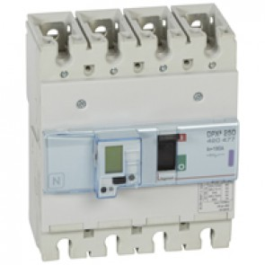 MCCB electronic + energy metering - DPX³ 250 - Icu 50 kA 400 V~ - 4P - 160 A