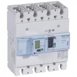 MCCB electronic + energy metering - DPX³ 250 - Icu 50 kA 400 V~ - 4P - 250 A