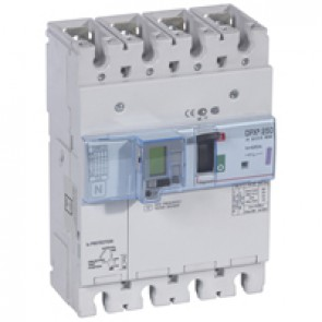 MCCB electronic + energy metering + e.l.c.bs - DPX³ 250 - Icu 50 kA - 4P - 250 A