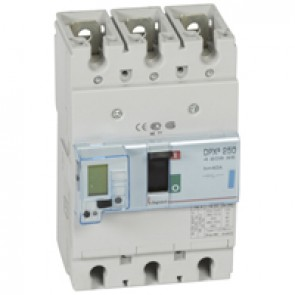 MCCB electronic release - DPX³ 250 - Icu 70 kA 400 V~ - 3P - 40 A