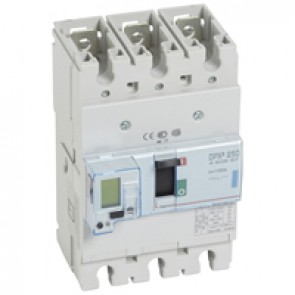 MCCB electronic release - DPX³ 250 - Icu 70 kA 400 V~ - 3P - 100 A