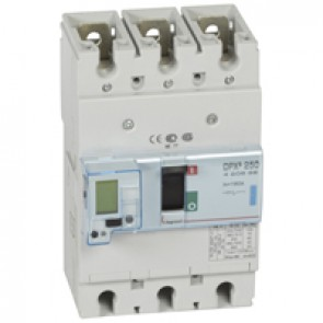 MCCB electronic release - DPX³ 250 - Icu 70 kA 400 V~ - 3P - 160 A