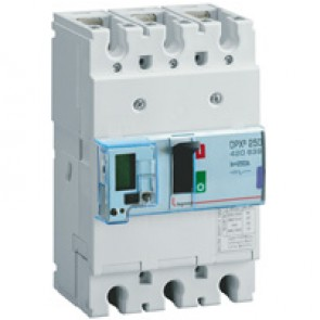 MCCB electronic release - DPX³ 250 - Icu 70 kA 400 V~ - 3P - 250 A