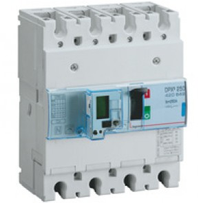 MCCB electronic release - DPX³ 250 - Icu 70 kA 400 V~ - 4P - 250 A