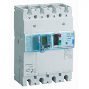 MCCB electronic release + e.l.c.bs - DPX³ 250 - Icu 70 kA 400 V~ - 4P - 160 A