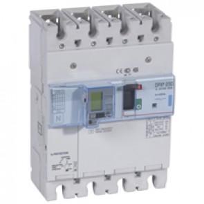MCCB electronic release + e.l.c.bs - DPX³ 250 - Icu 70 kA 400 V~ - 4P - 250 A
