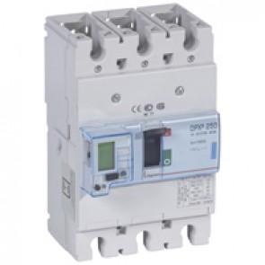 MCCB electronic + energy metering - DPX³ 250 - Icu 70 kA 400 V~ - 3P - 160 A