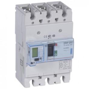 MCCB electronic + energy metering - DPX³ 250 - Icu 70 kA 400 V~ - 3P - 250 A