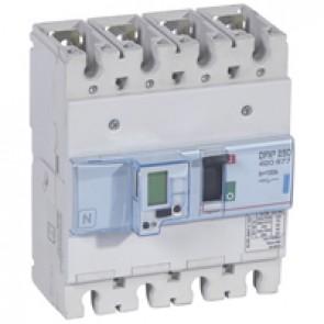 MCCB electronic + energy metering - DPX³ 250 - Icu 70 kA 400 V~ - 4P - 100 A