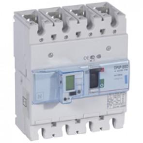 MCCB electronic + energy metering - DPX³ 250 - Icu 70 kA 400 V~ - 4P - 160 A