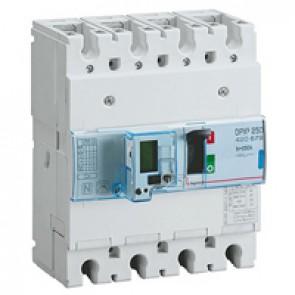 MCCB electronic + energy metering - DPX³ 250 - Icu 70 kA 400 V~ - 4P - 250 A