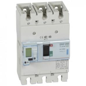 MCCB electronic release Sg - DPX³ 250 - Icu 70 kA 400 V~ - 3P - 100 A