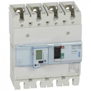 MCCB electronic release Sg - DPX³ 250 - Icu 70 kA 400 V~ - 4P - 250 A
