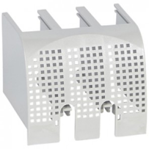 Sealable terminal shields - for DPX³ 160 3P - front terminals