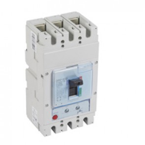 MCCB DPX³ 630 - thermal magnetic - 3P - Icu 50 kA (400 V~) - In 400 A