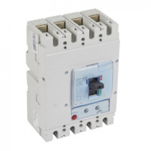 MCCB DPX³ 630 - thermal magnetic - 4P - Icu 50 kA (400 V~) - In 400 A