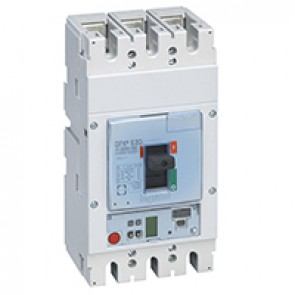MCCB DPX³ 630 - S2 electronic release - 3P - Icu 36 kA (400 V~) - In 250 A